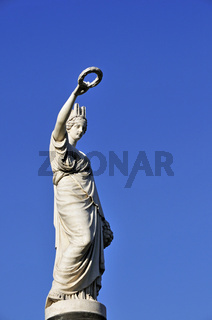 Siegesgöttin, Place Rouppe, Rouppeplaat, Brüssel, Belgien, Europa