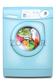 Washer. Isolated on white background.