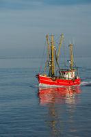 Fishing trawler, North Sea, Schleswig-Holstein, Germany