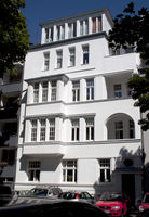 Arnulfstr, House facade, Cologne-Sülz, NRW, Rhineland