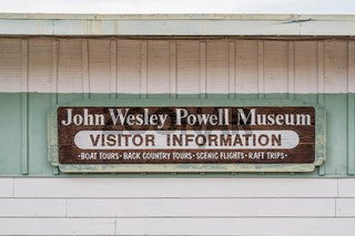 A historical commemoration of first exploration in Page, Arizona