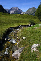 alpine landscape, austria, tyrol, Lechtal-valley