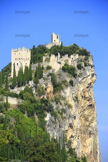 Castle ruin of Arco, Italy