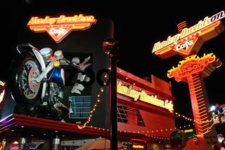 Harley Motorrad Reklame Las Vegas