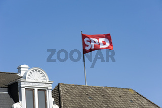 Fahne der SPD