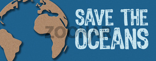 Paper cut - Save the oceans