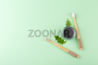 Natural bamboo tooth brushes