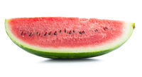 Red sliced watermelon. Pieces of red melon.