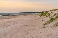 The beach in Ahrenshoop, Mecklenburg-Western Pomerania, Germany