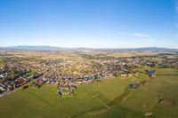 View Over Yarra Glen in Australia