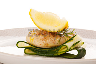 Luxurious seafood meal. Healthy eating.