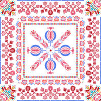 Hungarian embroidery pattern 142