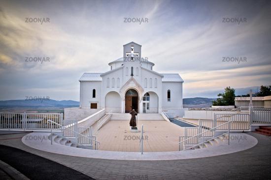 Church of Croatian Martyrs in Udbina