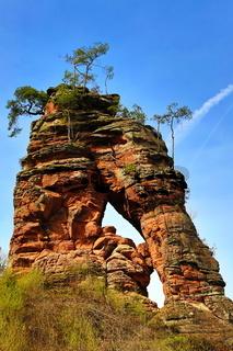 Schwalbenfelsen im Dahner Felsenland