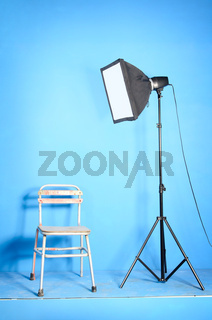 Small photostudio