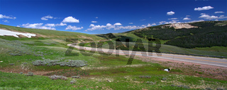 Bighorn National Forest Roadway