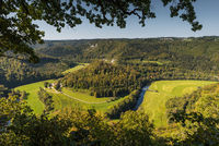View into the Upper Danube Valley