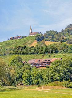 Evangelische Kirche Buchberg-Rüdlingen , Kanton Schaffhausen, Schweiz