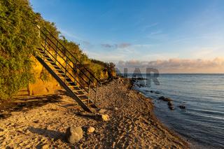 The Baltic Sea Coast in Klein Zicker, Mecklenburg-Western Pomerania, Germany