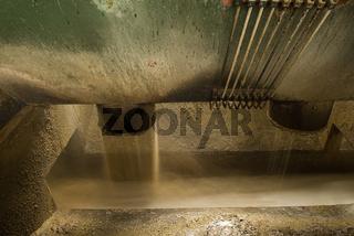 Abwasser nach der Rübenreinigung
