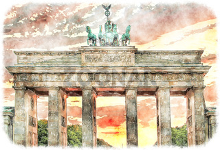 Berlin Brandenburger Gate