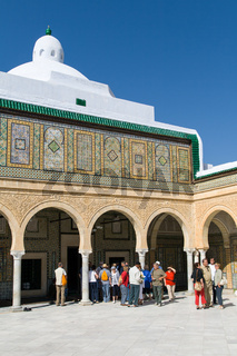 Barber's Mosque in Kairouan in Tunisia