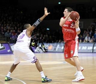 BBL 2011/2012 BG Göttingen vs. Brose Baskets