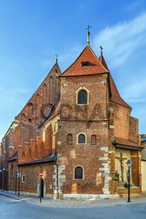Catholic church of St. Mark, Krakow, Poland