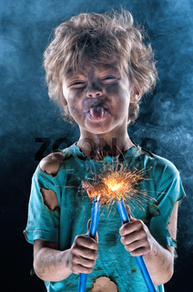 Crazy little electrician