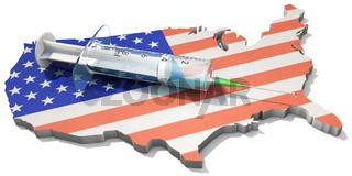 America-wide vaccination campaign