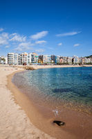 Beach and Sea in Blanes