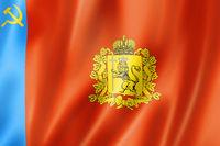 Vladimir state - Oblast -  flag, Russia
