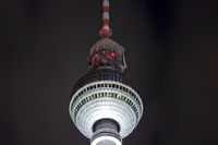 Tower in Berlin at night