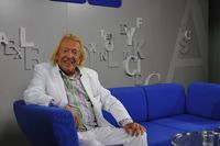 German 'Playboy' Rolf Eden visited the Frankfurt Bookfair to present his autobiography a