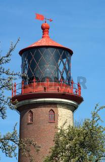 Leuchtturm Staberhuk auf Fehmarn zoom Laterne