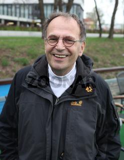 ehemaliger Ministerpräsident von Sachsen-Anhalt Dr.Reinhard Höppner von SPD zum 34.Kirchentag 2013