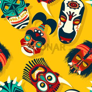 Tribal mask ethnic 16