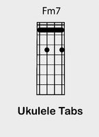 Ukulele chords F minor seventh