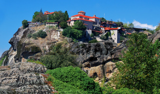 Great Meteor the largest monastery from Meteora