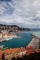 Port of Nice in France