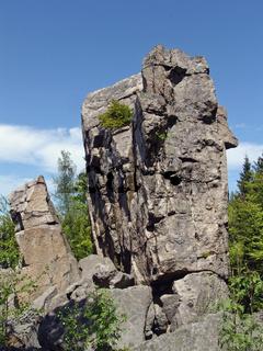 Zipfeltannenfelsen im Steinwald