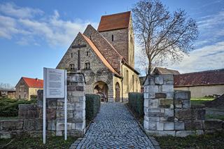Gustav-Adolf-Gedenkkirche in Meuchen nahe Lützen.