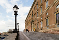 The Royal Palace of Stockholm in Sweden