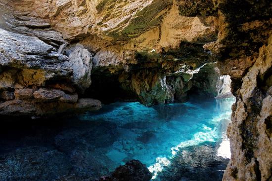 Cave at Mallorca