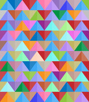 abstract modern colorful background with triangular shapes