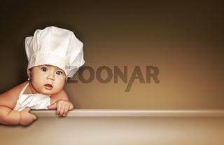 Little baby chef