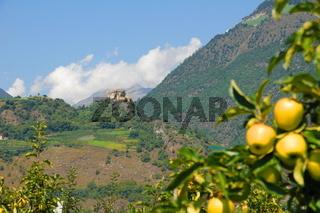 Schloss Juval in Südtirol