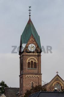 Kirchturm von Hitdorf