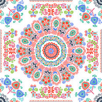 Hungarian embroidery pattern 125
