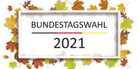 Bundestagswahl 2021 Frame Autumn Foliage Header